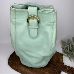 Coach Vintage Leather Sling Back Bag Backpack